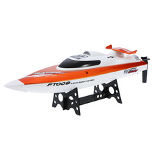 RC Speedboat FT009 2.4G 4CH Water Cooling System Self-righting 30km/h High Speed Racing RC Boat Ship Remote Control Toys Model(China)