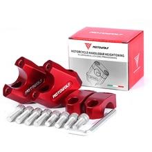 """Universele 28Mm 1 1/8 """"22Mm 7/8"""" Motorcycle Stuur Riser Bar Mount Handvat Klem Voor Bmw R1200gs r1250GS Voor Yamaha MT07 MT09"""