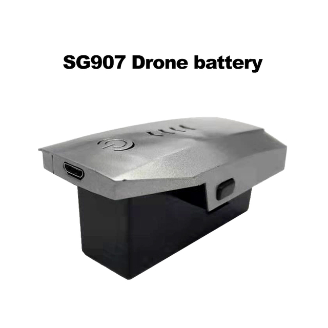 LAUMOX Drone Battery Spare Battery Replaceable Lithium Battery 7.4V 1600 mAh LI PO Battery for SG907 Drone RC Helicopter