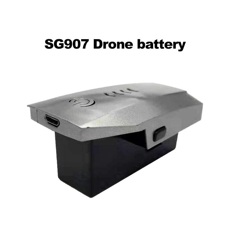 LAUMOX bateria do drona zapasowy akumulator wymienna bateria litowa 7.4V 1600 mAh bateria lipo dla SG907 zdalnie sterowany dron helikopter