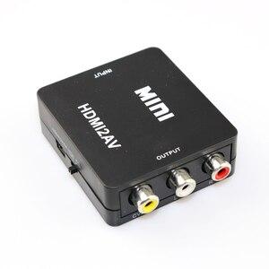 Image 3 - HDMI ל rca AV ממיר HDMI ל AV מתאם אנדרואיד טלוויזיה חכם תיבת מחשב נייד Chromecast עבור 1080P 720P 480P NTSC/PAL HDMI2AV