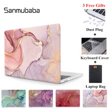 Sanmubaba Marble Texture Case For Macbook Air Pro Retina 11 12 13 15 With Touch