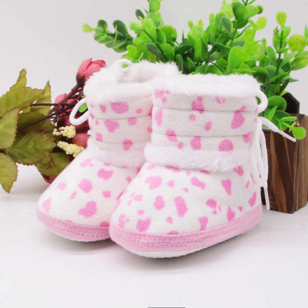 Newborn toddler shoes boots Baby Girls Boys Soft Booties Snow Boots Infant Toddler Newborn Warming Shoes