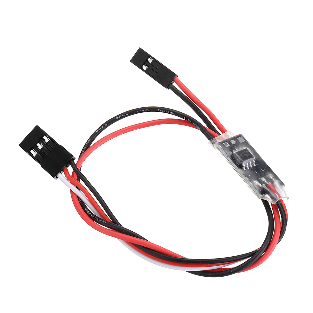 2.7A 1S Dual Way Micro Brush ESC 3.3-6V Winch Reversing With Overheat Out Of Control Protection For RC Drone Airplane