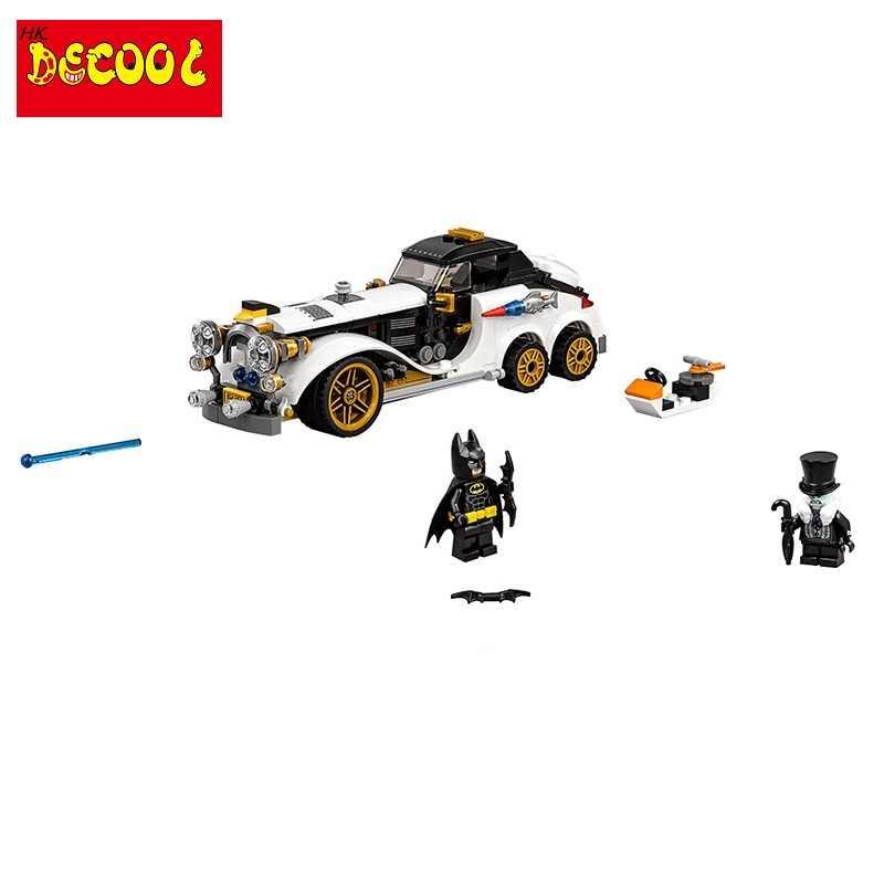 Decool 7128 305pcs גיבור באטמן קלאסי מירוץ משאית רכב 3D DIY דמויות צעצועי ילדי אבני בניין lepinINGS