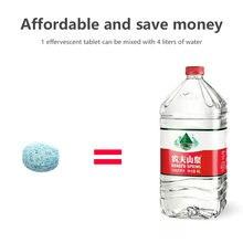 5 шт/упак шт = 20l воды автомобиль Твердый очиститель тонкий
