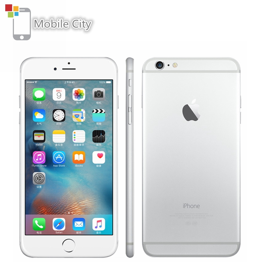 Original Apple iPhone 6 Plus IOS Smartphone 5.5 inch 16GB/64GB/128GB ROM Dual-core 8MP Fingerprint 4G LTE Unlocked Used Phone