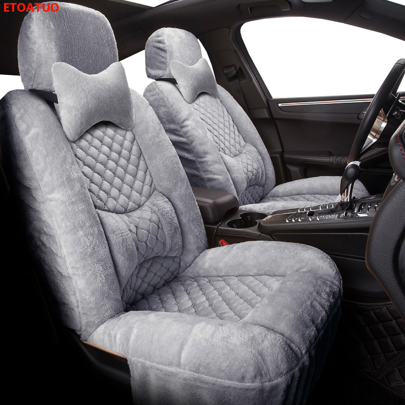 Winter Auto Full coverage Seats Covers Plush Car Seat Cover for Chery a1 arrizo chery a3 e3 fulwin2 a13 j2 indis <font><b>tiggo</b></font> <font><b>2</b></font> 3 tig image
