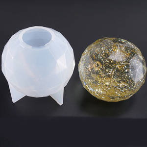 1Pcs Large Sphere Round Silicone Mold for Resin Epoxy, Jewelry Making, Candle Wax, Homemade Soap, Home Ornament(China)