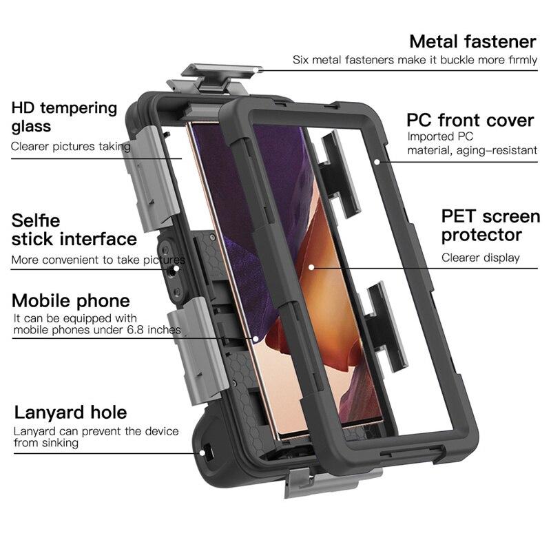 pro venda profissional caso de mergulho para iphone 04