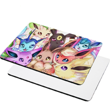 Free Shipping 10pc/lot 22*18cm Blank Sublimation Mouse Pad Natural Rubber Pad DIY Printing Transfer Mouse Pad