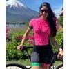 Xama pro equipe conjunto de ciclismo feminino pequeno macaco ciclismo camisa terno manga curta macacão triathlon roupas 10