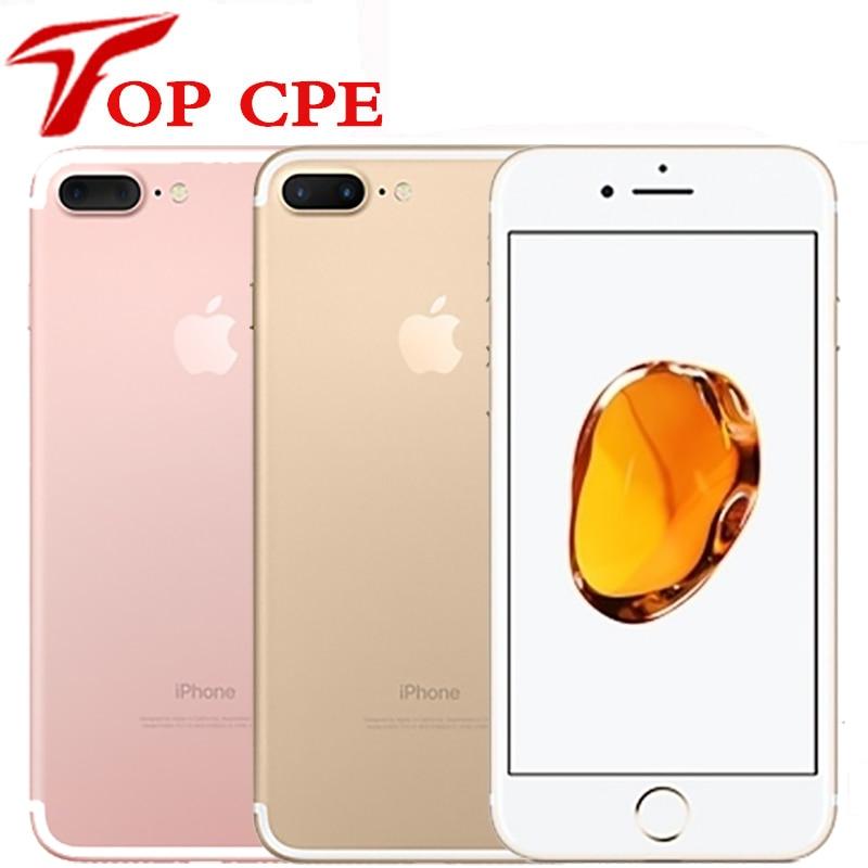 Для Apple iPhone 7 Plus с фабрики разблокированный оригинальный двойной реального для камеры 4 аппарат не привязан к оператору сотовой связи 5,5