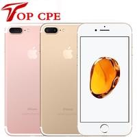 Apple-teléfono móvil iPhone 7 Plus desbloqueado de fábrica, móvil con cámara Dual Real, 4G LTE, pantalla de 5,5 pulgadas, Quad Core, A10, cámara de 12MP, 3GB de RAM, desbloqueado