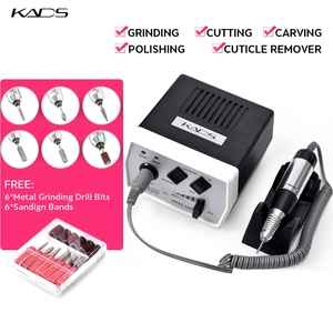 Image 3 - KADS 30000RPM manicure electric pedicure machine 35W Nail Drill Pen Set Black nail drill machine for Manicure Pedicure Tools