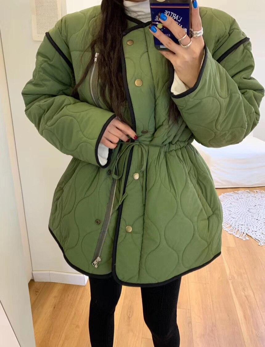 Зимние пальто и куртки genayooa Повседневная теплая длинная