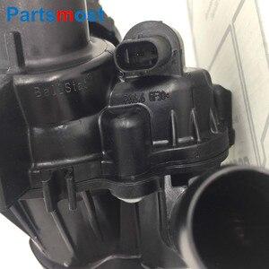Image 5 - OE kalite 2.0L Turbo motor soğutma suyu termostatı muhafazası için Mercedes X117 C117 CLA250 GLA250 X156 termostatik vana A2702000615
