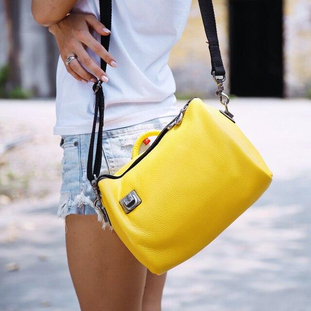 Orabird casual mulher balde sacos de couro genuíno macio grande capacidade luxo crossbody bolsa ombro feminino grande shopper saco 5