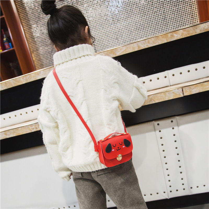 Children's Bags 2019 Spring And Summer New Style Shoulder Bag Cute Puppy Mini Shoulder Bag Fashion Men And Women Child Baby Purs