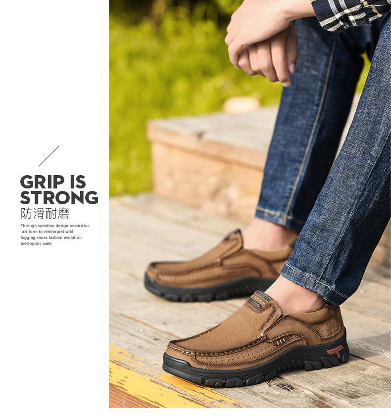 He6160084b15b4822852f54aabb00fc24I 2019 New Men Shoes Genuine Leather Men Flats Loafers High Quality Outdoor Men Sneakers Male Casual Shoes Plus Size 48