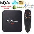 ТВ-приставка MXQ PRO 4K, Android 10, 2021 дюйма, RK3228A, Amlogic S905W, 2 ГБ/16 ГБ, 3D, 2,4 ГГц, Wi-Fi, Google Play, ТВ-приставка Android, медиаплеер