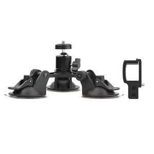 Image 5 - עבור DJI אוסמו כיס 2 מחזיק רכב יניקה גביע הר מצלמה מייצב אבזר עם אלומיניום הרחבת מודול מתאם ממיר