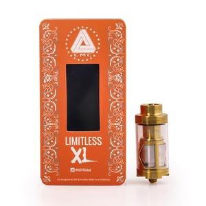 Image 5 - 2 Chiếc Ban Đầu Bộ Sản Phẩm IJOY Limitless XL 4 Ml Xe Tăng Vape Atomizer Với XL2S Dual Coil Deck Rebuildable Xe Tăng Atomizer VS IJOY EXO XL Xe Tăng