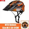 BATFOX Новый Сверхлегкий велосипедный шлем интегрально-литый велосипедный шлем MTB дорожный защитный шлем для верховой езды Кепка acete шлем Кепк...