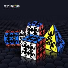QiYi Magic cube QiYi magiczna kostka 3x3x3 Qiyi kostka rubika biegów 3*3*3 Puzzle Profesjonalna kostka Rubika QIYI prędkość kostka zabawna gra kostka zabawki Magia cube tanie tanio CN (pochodzenie) Z tworzywa sztucznego Qiyi gear cube Qiyi new gear cube 3x3x3 magic cube 5-7 lat 8-11 lat 12-15 lat Dorośli