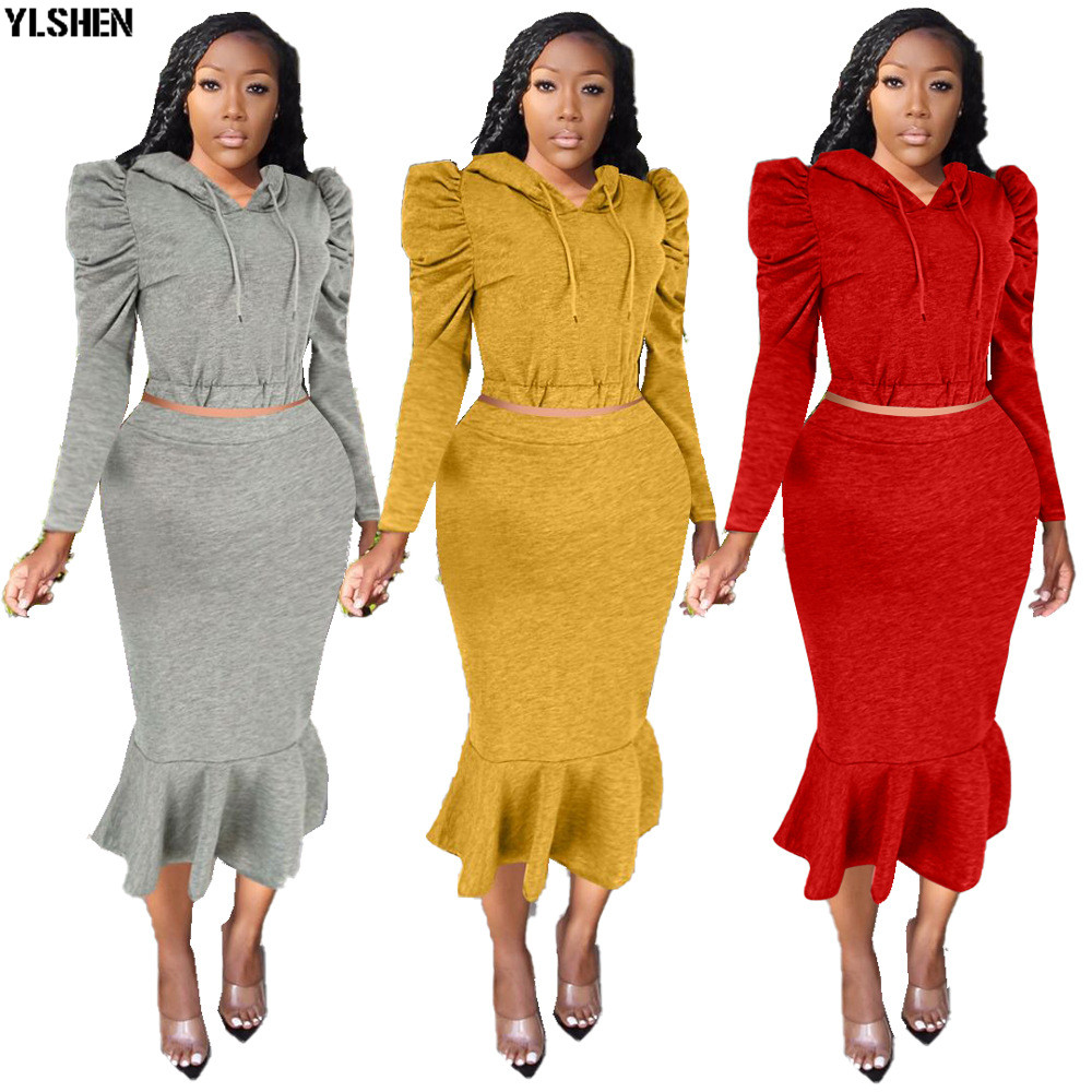 2 Piece Set Africa Clothes African Dashiki New Dashiki Fashion Suit ( Top And Skirt ) Super Elastic Party Plus Size For Lady