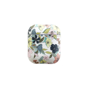 Image 5 - Art Oil Painting Case For Airpods Cover Luxury Luminous Flower Bluetooth Earphone Soft Case  Headphone Case Box For Apple Airpod