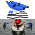 Надувной поплавок Outrigger Для Каяка, ПВХ, с держателем для киносъемки, комплект стабилизаторов Для Каяка, лодки, рыбалки