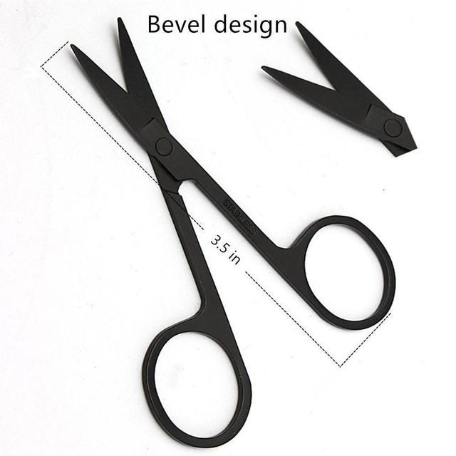 BellyLady Beard Grooming Kit Trimming Shaving Comb Set Mustache Scissors Shaping Shaver 3