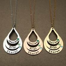 Collar personalizado de la abuela, Collar de familia, collar de madre, nombre personalizado para niños, Regalo para mamá, abuela, regalos de cumpleaños