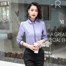 Moda coreana chiffon camisas femininas senhora do escritório blusas listradas plus size 5xl das mulheres topos e blusas femininas elegante