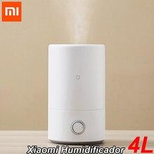 Original Xiaomi humidificador 4L fabricante de la niebla transmisión difusor de aromaterapia aroma casa antibacteriano humidifi