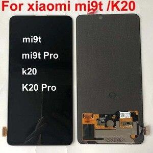Image 4 - AAA الأصلي Amoled ل 6.39 شاومي Redmi K20 LCD عرض تعمل باللمس محول الأرقام الجمعية ل شاومي Mi 9t ل Redmi K20 برو