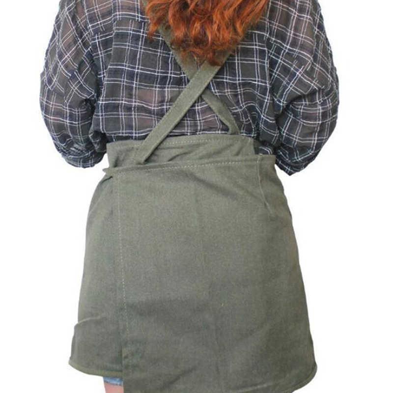 ביתי יומי רב תכליתי כלי סינר בד ללבוש עמיד עמיד סינר מטבח בישול עבודות בית ניקוי סינר
