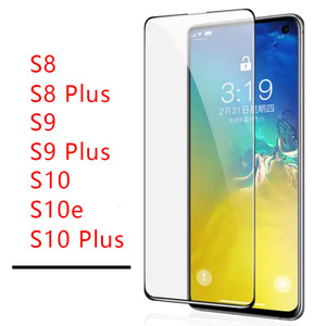 Tempered Glass Case For Samsung s10 plus s9 s8 s10e Protective Glas Screen Protector On Galaxy 8s 9s 10s s 8 9 10 e lite s10plus(China)