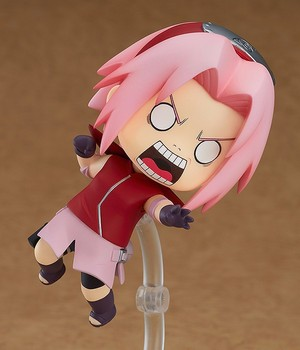 Anime Naruto Haruno Sakura Cute 10cm BJD Action Figure New Ninja Girls Model Toys 2