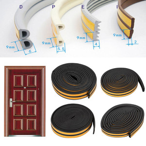 5M D/E/P/I Type Foam Weather Draught Excluder Self Adhesive Window Door self adhesive foam seal strip GK(China)