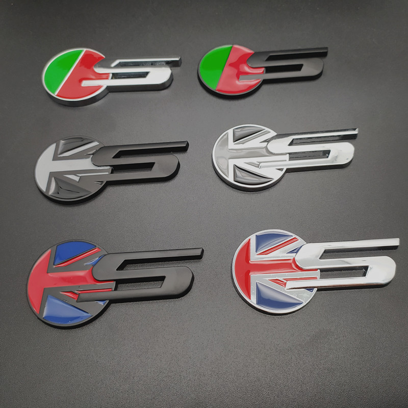 Black Metal Edition Jaguar S Logo Badge Emblem for XKR XJR XFR XJ XK XF S Type S