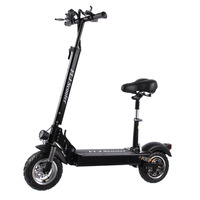 FLJ Electric Scooter for Adult with seat 48V 1200W / 500W E kick scooter foldable electro bicycle electrical bike