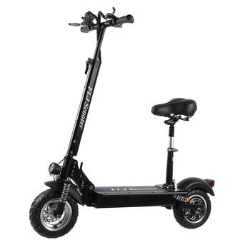 Scooter Eléctrico FLJ para adultos con asiento 48V 1200 W/500 W E patinete plegable electro bicicleta bicicleta Eléctrica