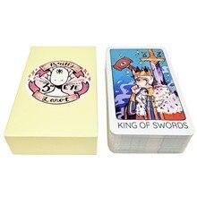 78 adet Britts üçüncü göz Tarot Oracle kartları kurulu güverte oyunları oyun kartları için arkadaş parti oyunu hediyeler ile PDF rehberi kitap