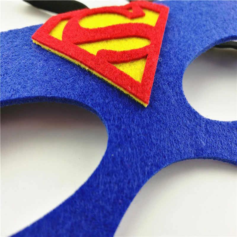Cosplay Máscara de super-heróis Superman Batman Homem De Ferro Homem-Aranha Hulk Raytheon Princesa do Dia Das Bruxas Natal Máscara Do Partido Crianças