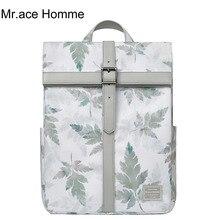 Mr.ace Homme cross design brand big laptop backpack men wate