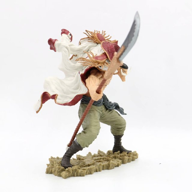 Anime One Piece SCultures the TAG Team Edward Newgate 20th Figure Statue One Piece White Beard Figure Collectible Model Toy 5