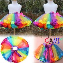 2020 HOT Cute Girls Tutu Skirt Fluffy Children Ballet Kids B