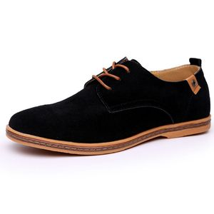 Image 2 - 2019 Brand Men shoes Oxford Suede Leather formal Shoes Male  Casual Classic Sneakers For Male Comfortable Footwear zapatos hombr